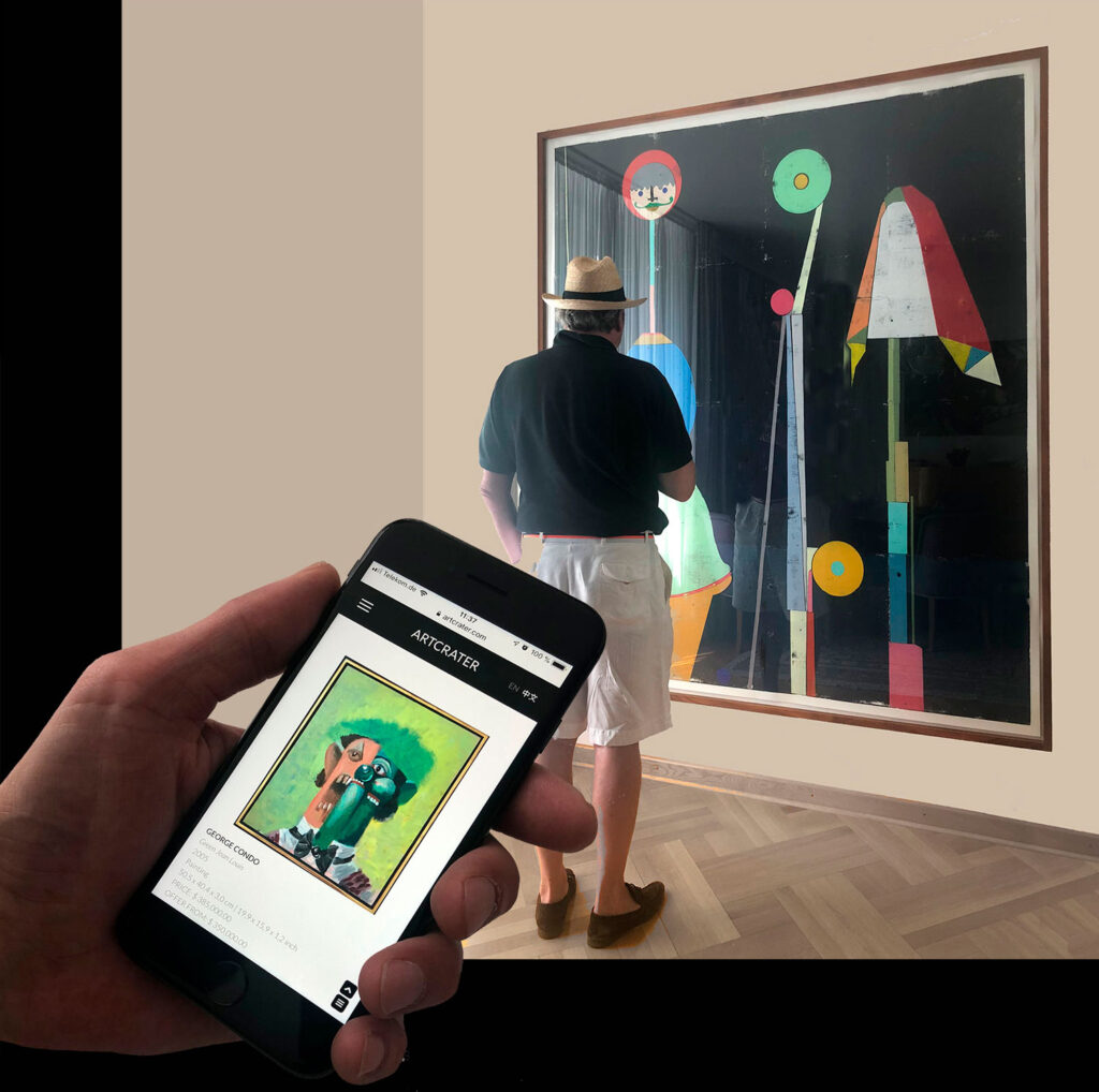 Sell art from your art collection